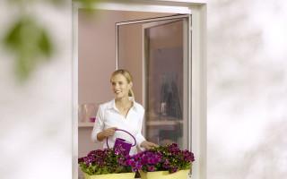 Insektenschutz Drehrahmen für Fenster