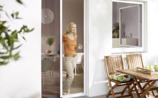 Insektenschutz Plissees für Türen