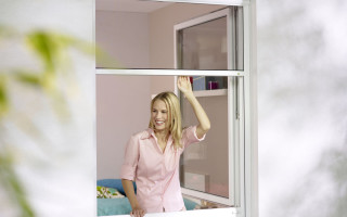 Insektenschutz Rollos für Fenster